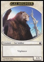 Born of the Gods: Cat Soldier Token