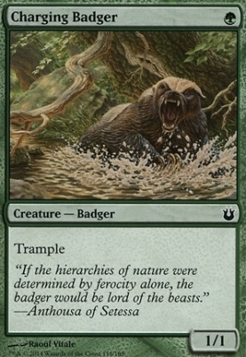 Born of the Gods: Charging Badger
