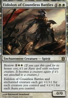 Born of the Gods Foil: Eidolon of Countless Battles