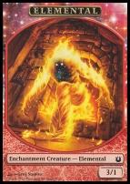 Born of the Gods: Elemental Token