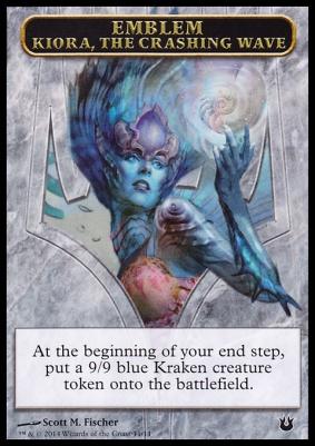 Born of the Gods: Emblem (Kiora, the Crashing Wave)