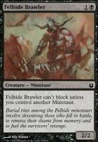 Born of the Gods Foil: Felhide Brawler