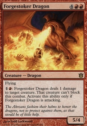 Born of the Gods: Forgestoker Dragon