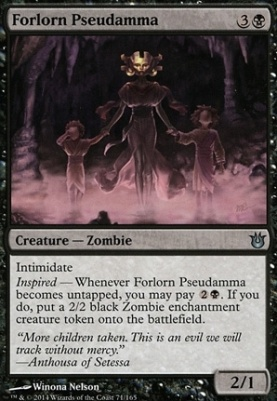 Born of the Gods Foil: Forlorn Pseudamma