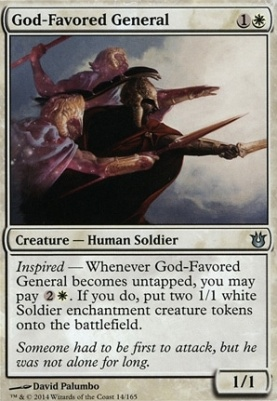 Born of the Gods: God-Favored General