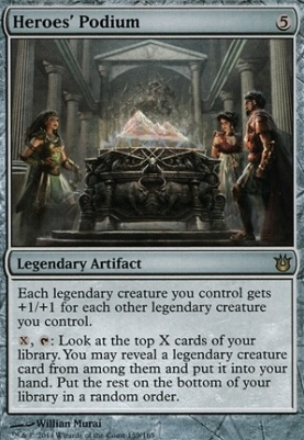 Born of the Gods Foil: Heroes' Podium