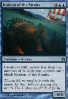 Born of the Gods Foil: Kraken of the Straits