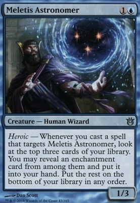 Born of the Gods Foil: Meletis Astronomer