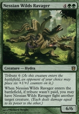 Born of the Gods Foil: Nessian Wilds Ravager