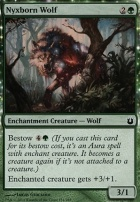 Born of the Gods Foil: Nyxborn Wolf