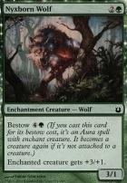 Born of the Gods Foil: Nyxborn Wolf