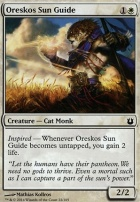 Born of the Gods Foil: Oreskos Sun Guide