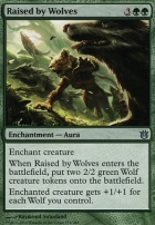Born of the Gods Foil: Raised by Wolves