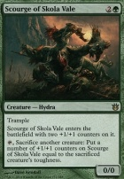 Born of the Gods Foil: Scourge of Skola Vale