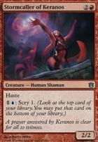 Born of the Gods Foil: Stormcaller of Keranos