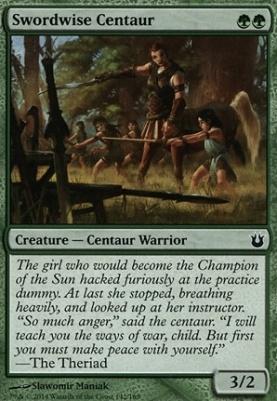 Born of the Gods: Swordwise Centaur