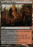 Born of the Gods Foil: Temple of Malice