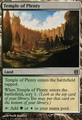 Born of the Gods: Temple of Plenty