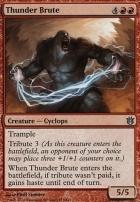 Born of the Gods: Thunder Brute