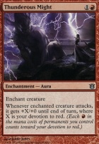 Born of the Gods Foil: Thunderous Might