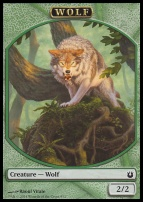 Born of the Gods: Wolf Token