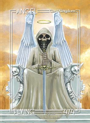 Card Kingdom Tokens: Angel Token (Joe Vollan)