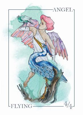 Card Kingdom Tokens: Angel Token (Siolo Thompson)