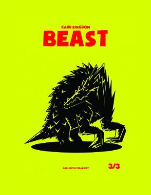 Card Kingdom Tokens: Beast Token (Red Box Edition)