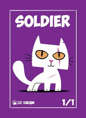 Card Kingdom Tokens: Cat Kingdom Soldier Token