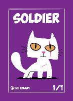 Card Kingdom Tokens: Cat Kingdom Soldier Token