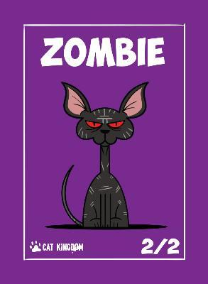 Card Kingdom Tokens: Cat Kingdom Zombie Token