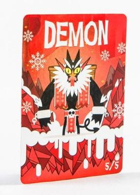 Card Kingdom Tokens: Demon Token (Krampus (Foil) - 2019)