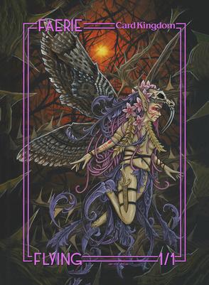 Card Kingdom Tokens: Faerie Token (Joe Vollan)