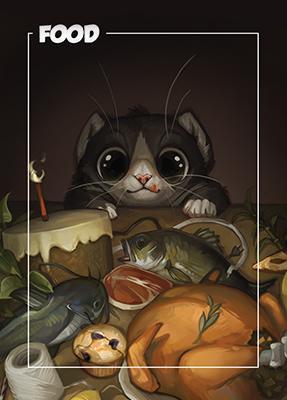 Card Kingdom Tokens: Food Token