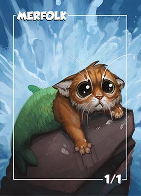 Card Kingdom Tokens: Merfolk Token