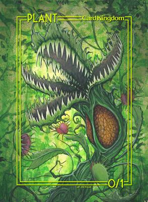 Card Kingdom Tokens: Plant Token