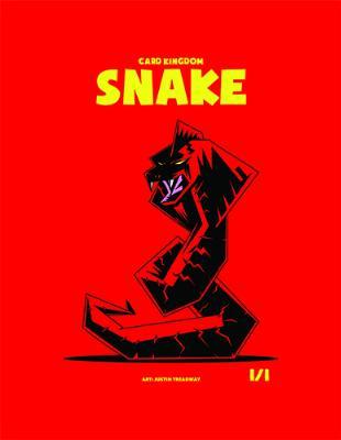 Card Kingdom Tokens: Snake Token (Red Box Edition)
