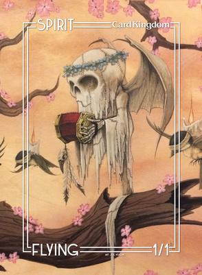 Card Kingdom Tokens: Spirit Token (Joe Vollan)