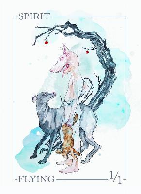 Card Kingdom Tokens: Spirit Token (Siolo Thompson)