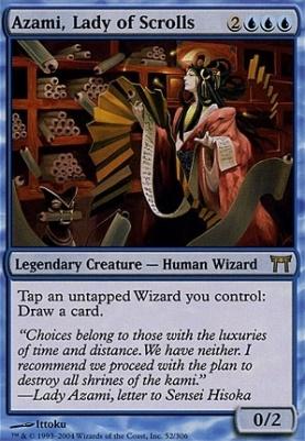Champions of Kamigawa: Azami, Lady of Scrolls