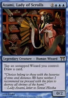 Champions of Kamigawa Foil: Azami, Lady of Scrolls