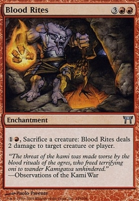 Champions of Kamigawa Foil: Blood Rites