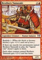 Champions of Kamigawa: Brothers Yamazaki (160 A)