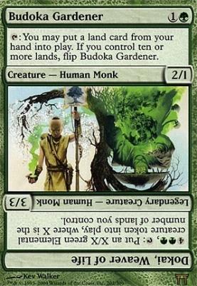 Champions of Kamigawa: Budoka Gardener