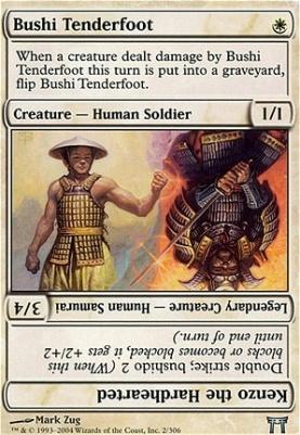 Champions of Kamigawa: Bushi Tenderfoot