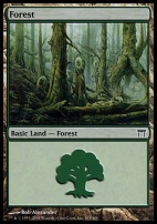 Champions of Kamigawa: Forest (303 A)