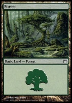 Champions of Kamigawa: Forest (304 B)