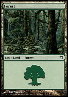 Champions of Kamigawa: Forest (305 C)