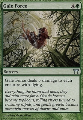Champions of Kamigawa Foil: Gale Force