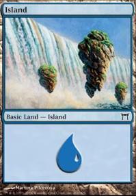 Champions of Kamigawa: Island (291 A)